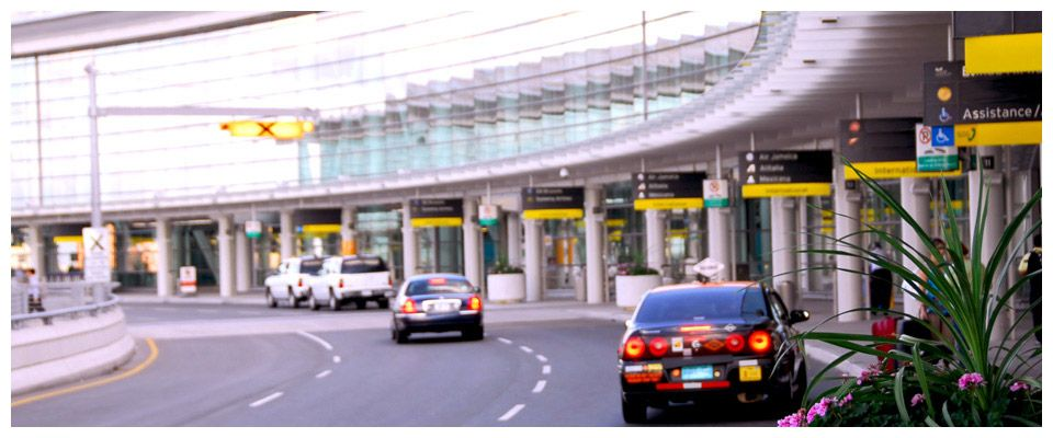 Airport taxi pick up service